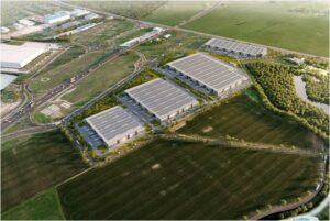 Industrial spaces for rent in VGP  Park Stefanesti