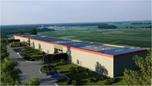 Industrial spaces for rent in TRC Park Cluj